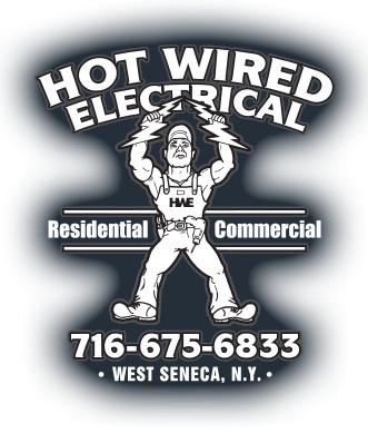 hot wired electrical wny logo